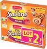 Lt2 p'tit savane roulo fraise x6 150g - Product