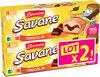 Lot 2 pocket x7 chocolat 210g - Produit
