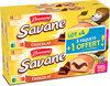 Brossard - lot de 3 savane pocket x 7 chocolat + 1 paquet offert - 840gr - Produit