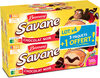 Brossard - lot de 3 savane pocket x 7 chocolat noir + 1 paquet offert - 840gr - Produit