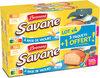 Brossard - lot de 3 savane pocket x 7 yaourt + 1 paquet offert - 840gr - Produit
