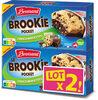 Brossard - lot 2 brookie choco noisettes x4 - Produit