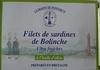 Sardines de bolinche - Produit
