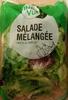 Salade Mélangée prête à l'emploi - Product