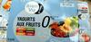 Yaourts aux fruits (0 % MG) 8 pots - Produit