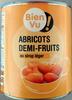 Abricots demi-fruits, au sirop léger - Produit