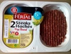 Steaks Hachés Pur Bœuf 5% MG - Produit