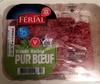Viande Hachée Pur Bœuf 5% MG - Férial - 350g - Produit