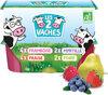 LES 2 VACHES P'TIT MIAM FRUITS 50GX12 - Product