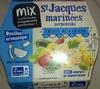 St Jacques marinées serpentini - Produit