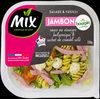 Salade&fusilli jambon fromage boursin - Produit