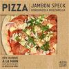 Pizza Speck Mozzarella Gorgonzola - Produit