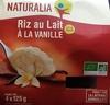 Riz au lait à la vanille - Product