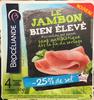 Le Jambon bien élevé (-25% de sel) - Product