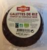Galettes de riz complet au chocolat noir - Product