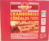 Cranberries Céréales - Produit