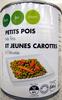 Petits pois très fins jeunes et carottes à l'étuvée - Product