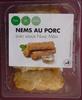 NEMS AU PORC avec sauce nuoc mam - Product