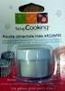 Poudre alimentaire irisée argentée - Product