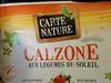 Calzone aux légumes du soleil - Produit