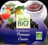 Dessert Biofruits Pomme Cassis Jardin Bio - Produit