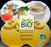 Dessert Biofruits Pomme Banane - Produit