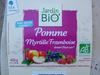 Dessert BioFruits Pomme Myrtille Frambroise - Produit