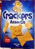 Crackers assortis - Produit