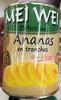 Délicieux Ananas en tranches au sirop léger - Produit