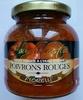 Sauce tomate à l'huile d'olive Poivrons Rouges - Produit