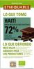 Chocolate negro Haití 72% cacao - Producte