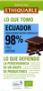 Chocolate negro cacao de ecuador ecológico - Producte