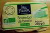 Beurre bio de baratte Demi-sel - Produit