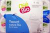 Yaourt nature Bio (Au lait entier) 12 Pots - Produit
