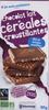 Chocolat lait céréales croustillantes bio - Produit
