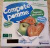 Compote De Pomme Allegee En Sucre - Product