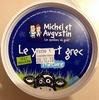 Le yaourt grec nature - Product