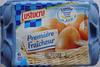 6 Gros Œufs Frais, Première Fraîcheur - Product