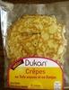 crêpes au tofu soyeux et konjac Dukan - Product
