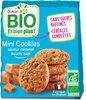 Mini cookies bio saveur caramel beurre salé - Produit