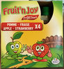 Pocket Snack Pomme Fraise - Product