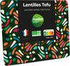 Lentilles germées tofu fumé - Produit