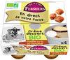 Crème dessert fermière Vanille sur lit de Caramel - Product