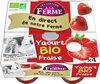 Yaourt bio à la fraise - Product