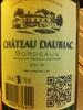 Château Daubiac - Product