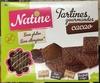 Natine - Tartines gourmandes Cacao - Produit