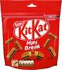 KITKAT Mini Break Barres au chocolat au Lait - Producto
