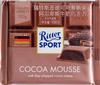 Chocolat au lait des Alpes fourré d'une mousse au cacao - 产品
