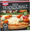 Mozzarella pizza con queso mozzarella tomate cherry y pesto - Product