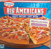 Pizza Big Americans BBQ Pulled Pork - Product